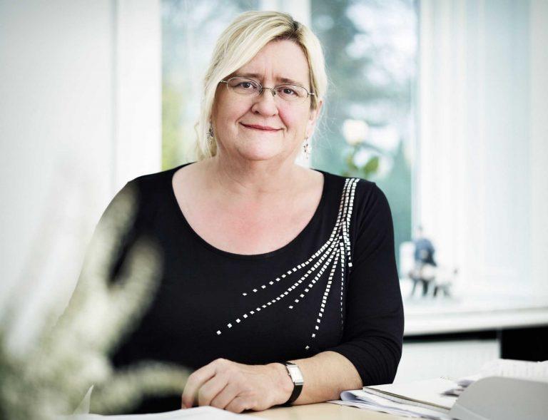 Kirsten Andersen - Forbundshovedkasserer i DJF - djf.dk