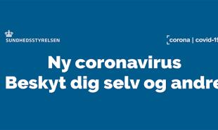 Corona: Forbundskontoret er lukket for personlig fremmøde