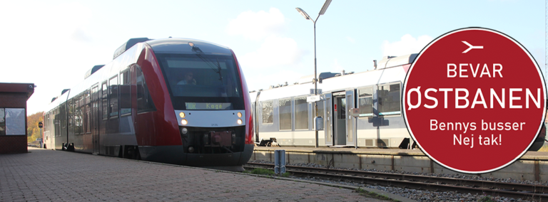 Østbanen: Kampen for skinner fortsætter - djf.dk