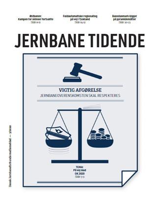 Fagbladet Jernbane Tidende juli 2020 - djf.dk