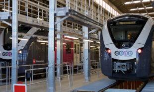 Fuldautomatiske tyske regionaltog – dog med lokomotivfører