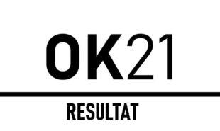 OK 21: Afstemningsresultat