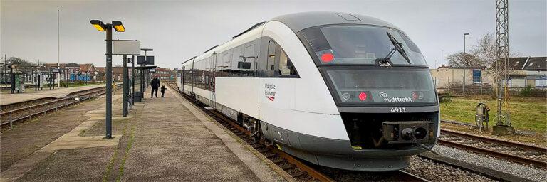 Aflyste tog på Holstebro-Skjern - djf.dk